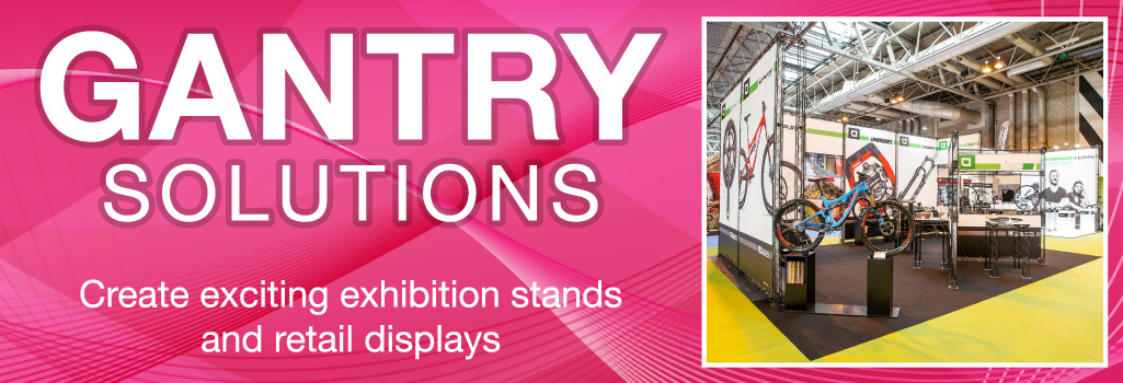 Exhibition Stand Gantry Displays