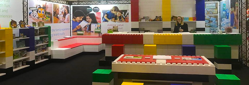 Modular Exhibition Blocks - Everblocks UK