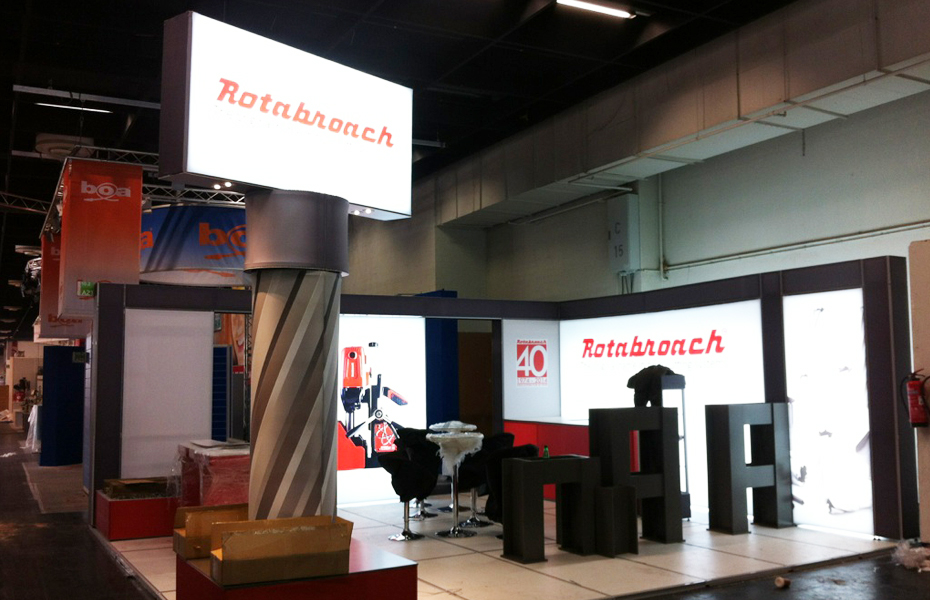 Exhibition Stand Rota : Rotabroach