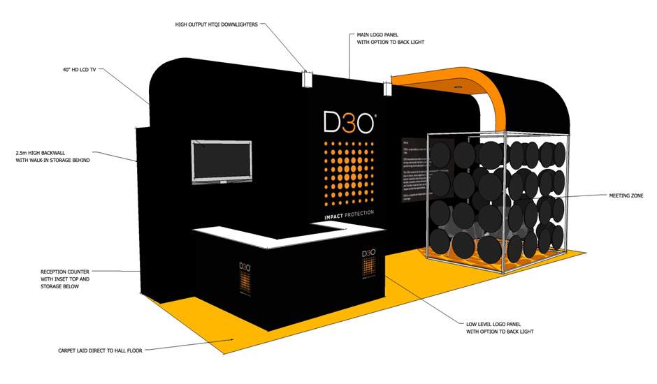 Exhibition Stand Design Northampton : D o labs