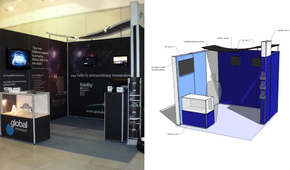 Exhibition Stand Design Northampton : Global immersion