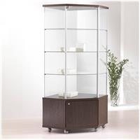 Fusion 70M Corner Cabinet With Storage