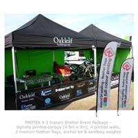 PROTEX 4.3 Instant Shelter Event Package