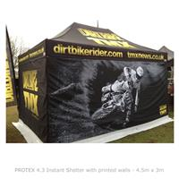 PROTEX 4.3 Instant Shelter with Printed Walls