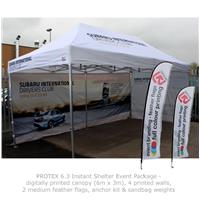 PROTEX 6.3 Instant Shelter Event Package