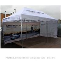 PROTEX 6.3 Instant Shelter with Printed Walls