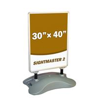 Sightmaster 2 - 30x40 Inch Forecourt Sign