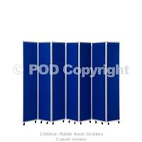 1500mm Mobile Room Dividers