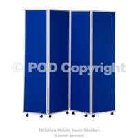 1800mm Mobile Room Dividers