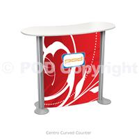 Centro Curved Counter