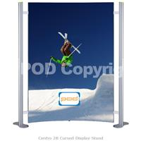 Centro 2B Curved Display Stand