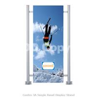 Centro 3A Single Panel Display Stand