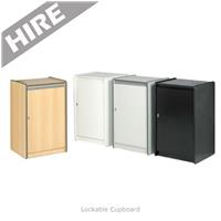 Lockable Cupboard Hire