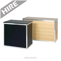 Sales Counter Hire