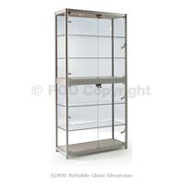 L800 Portable Glass Cabinet