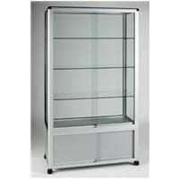 Britannia Wide Aluminium Framed Storage Showcase