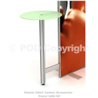 Tension Fabric System Poseur Table Kit