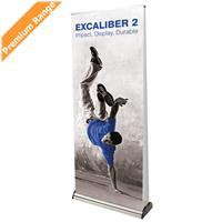 Excaliber 2 Double Sided Roller Banner Stand