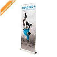Imagine Plus Cassette Banner Stand