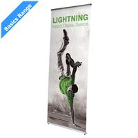Lightning Tension Banner Stand