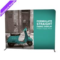 Formulate Large Straight Fabric Backdrop