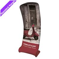 Formulate Slant Fabric Banner Stand