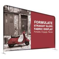 Formulate Straight Slope Fabric Display