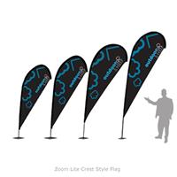 Zoom Lite Quill Style Flag