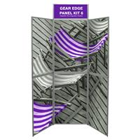 6 Panel Gear Edge Folding Display Kit