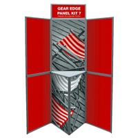 7 Panel Gear Edge Folding Display Kit