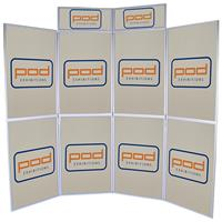 Baseline 8 Show Board with Printed Display Panels