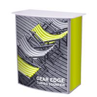 Gear Edge Curved Counter