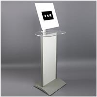 Vertron Tablet Kiosk with Graphic Panel