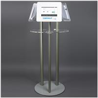 Vertron Triple Tablet Holder Poseur Table