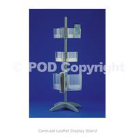 Carousel Leaflet Display Stand