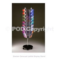 Stacker Carousel Leaflet Stand