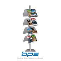 BPS Double Sided Literature Stand