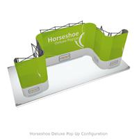 Horseshoe Deluxe Pop Up Configuration
