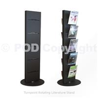 Rotating & Carousel Literature Stands