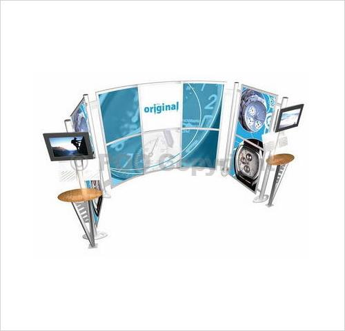 Linear Kit Ds2 Exhibition Stand Pod Exhibitions
