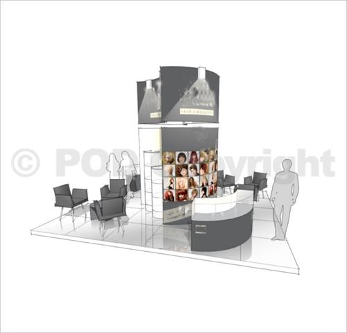 Modular Exhibition Stands Tall : Esetta example stand