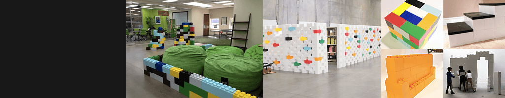 POD Blocks - Innovative plastic modular building block that enable you to build anything