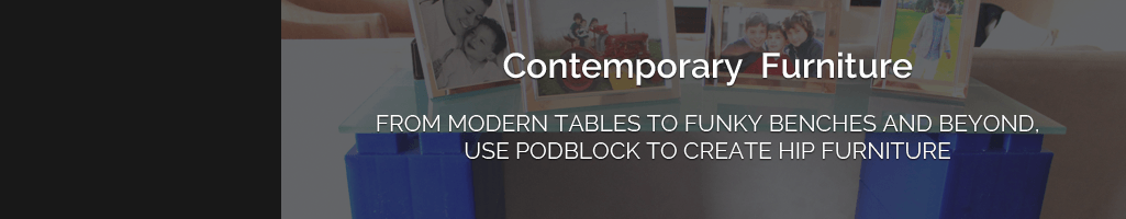 Create modular furniture with EverBlock building blocks
