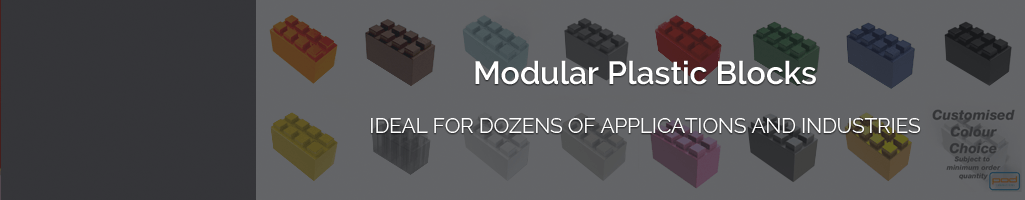Buy Individual EverBlock Modular Building Bricks in a Colour of Your Choice