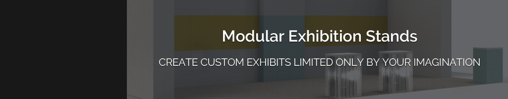 Design & Build any size exhibition stand with EverBlock modular building blocks