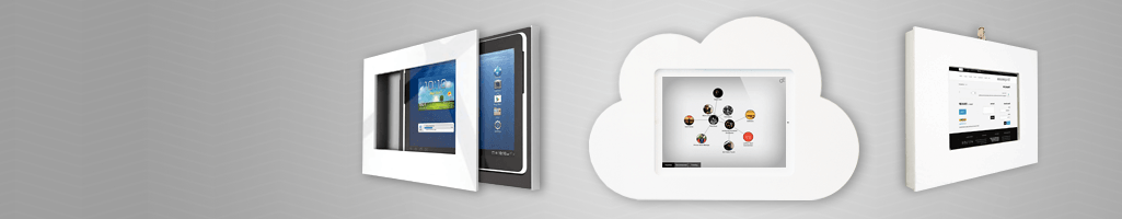 WALL MOUNTED IPAD & TABLET DISPLAYS - Lockable and verstile displays.