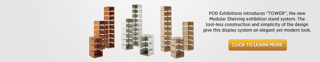 Modular shelving system - Display shelving suitable for exhibtions. Ideal for showing Toys, Giftware and Plants etc.